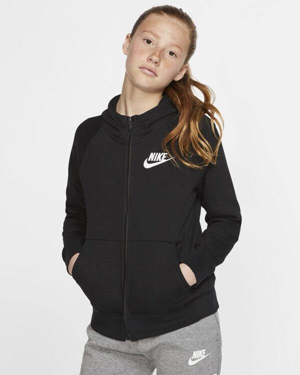 nike-sportswear-kids-fullzip-hoodie-black-white-881598
