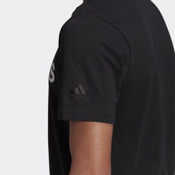 Camiseta_Essentials_Embroidered_Linear_Logo_Negro_GL0057_42_detail